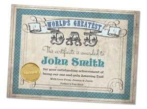 dadcertificate