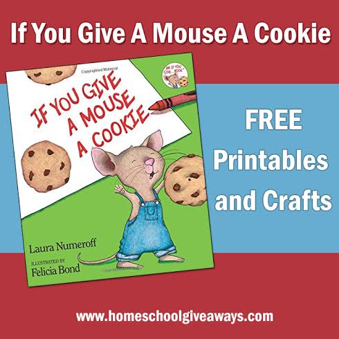If You Give a Mouse a Cookie Coloring Page 1 - FamilyEducation | 490x490