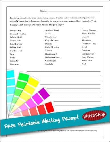 paintchipwriting