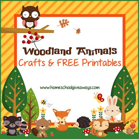 image about Free Printable Woodland Animal Templates referred to as Totally free Woodland Pets Crafts and Printables