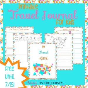 06.25 Travel Journal Free!