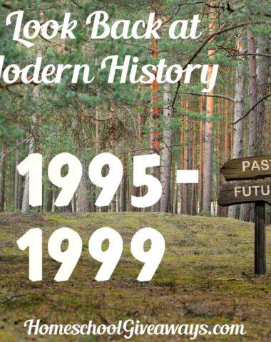 A Look Back at Modern History 1995-1999