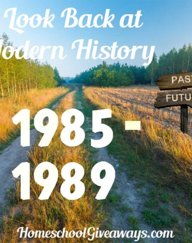A Look Back at Modern History 1985-1989