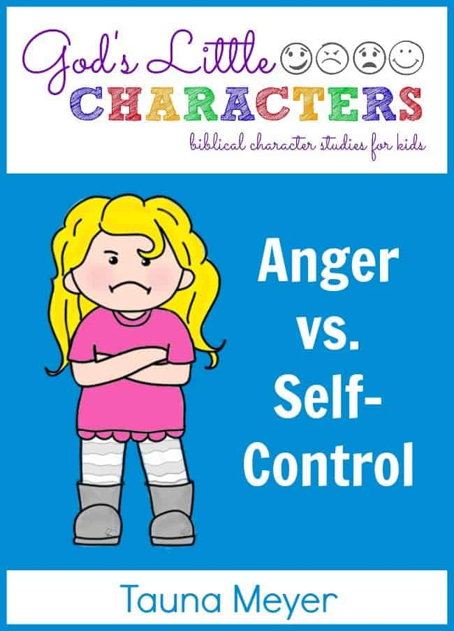 Anger-vs.-Self-Control-Unit-Study