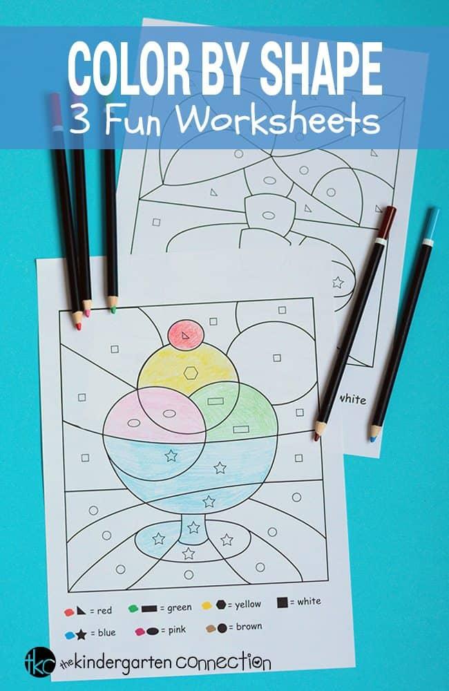 Color-by-Shape-Printables-3-Worksheets