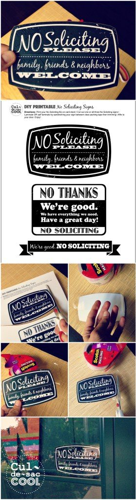 DIY-Printable-No-Soliciting-Collage-3