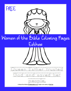 Free-Bible-Coloring-Page-Esther-233x300