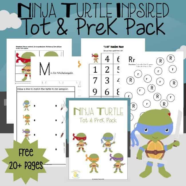 Ninja Turtle Printable