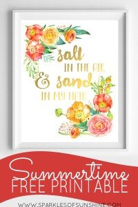 Summertime-Free-Printable