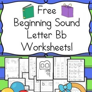 beginning-letter-b-worksheets