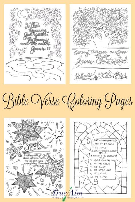 Bible Verse Adult Coloring Pages Bible Best Free