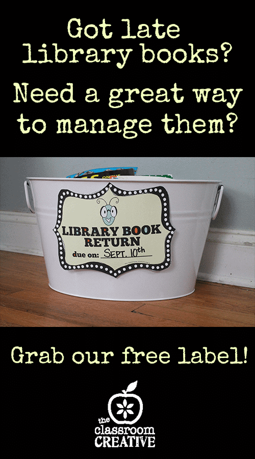 picture about Will Return Sign Printable called Cost-free Printable Library Ebook Return Label - Homeschool Giveaways