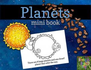 preschool solar system boklet - photo #43