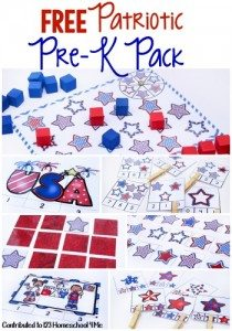 patriotic-prek-pack-activities