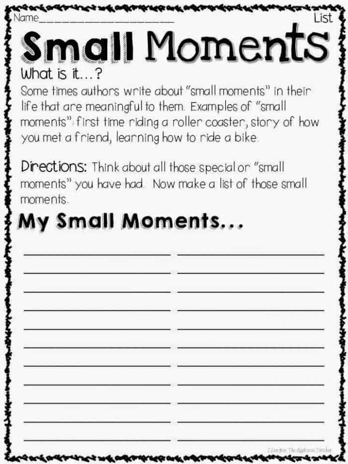 writers workshop paper templates