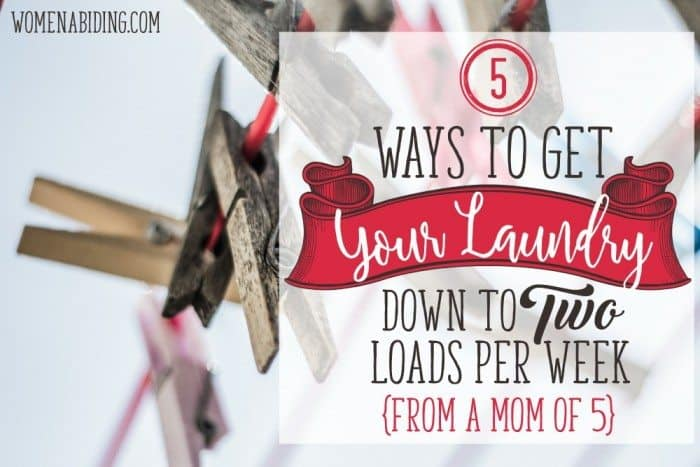 5-Ways-to-Get-Your-Laundry-Down-To-two-loads-per-week-pic