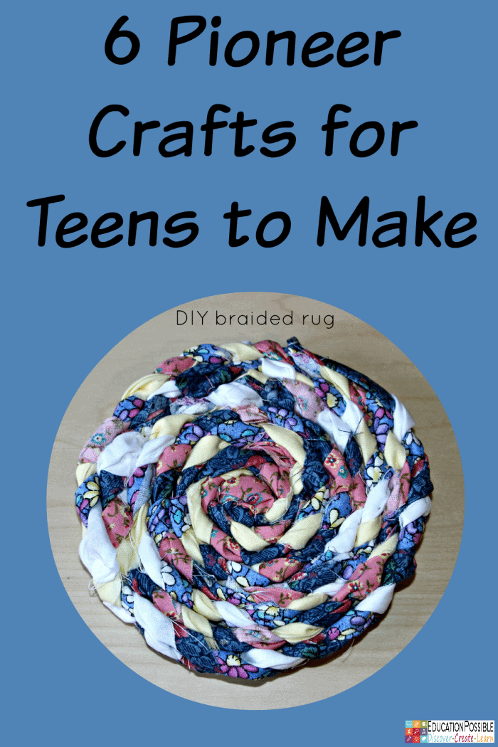 FREE Pioneer Crafts for Teens to Make - Homeschool Giveaways