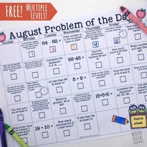 August-Problem-a-day-calendar