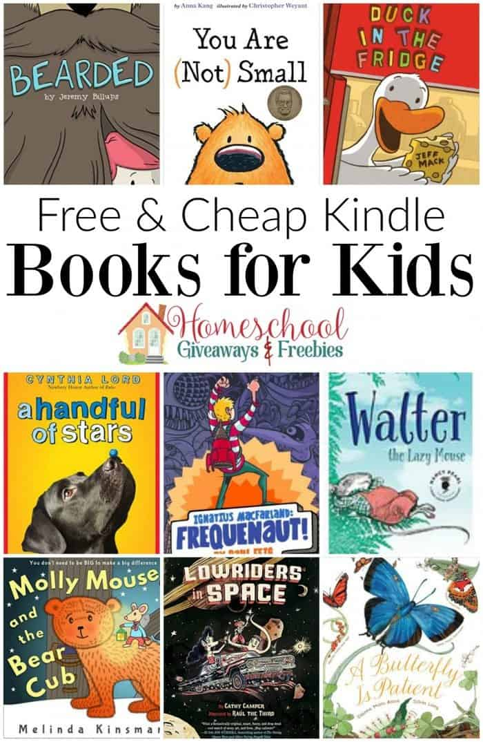 free and cheap kindle books for kids of all ages homeschool giveaways. Black Bedroom Furniture Sets. Home Design Ideas