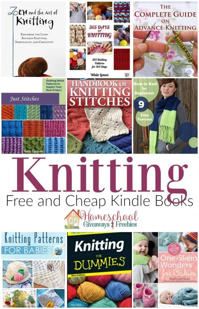 Free and Cheap Kindle Books   Knitting