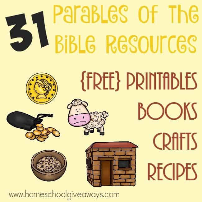 Parables Of The Bible Printables