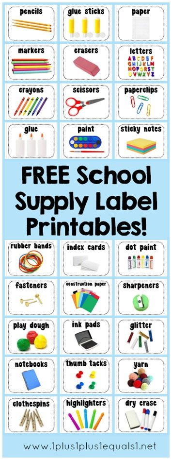 School-Supply-Label-Printables