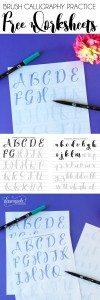 BrushCalligraphy-PracticeWorksheets-Pinnable