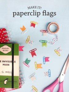DIY-make-craft-washi-tape-paperclip-flags