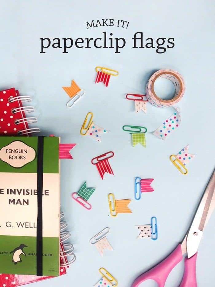 Diy Paperclip Flags