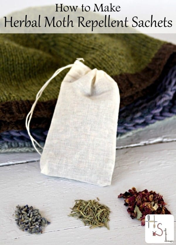 How To Make Moth Repellant Sachets