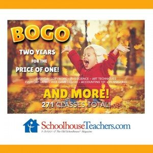 Schoolhouse Teachers BOGO
