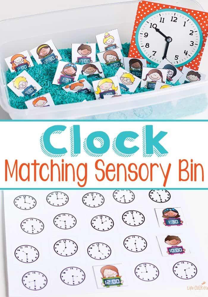 clock-matching-pin