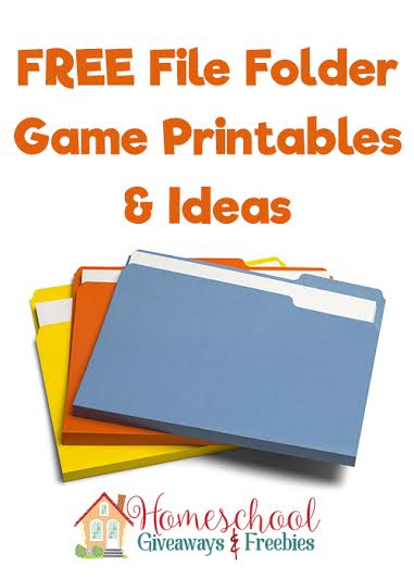 graphic regarding Free Printable File Folder Games named Cost-free Report Folder Video game Printables and Tips - Homeschool