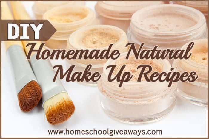 Homemade makeup