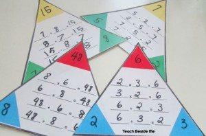 trianglemathfactcards