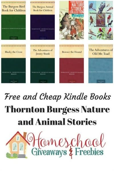Free And Cheap Kindle Books Thornton Burgess Nature Animal Stories