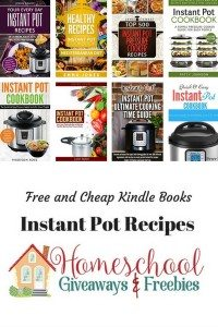 Free and Cheap Instant Pot Kindle Books