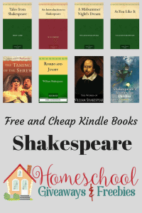 Free and Cheap Kindle Shakespeare Books