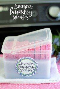 Lavender-Laundry-Sponges