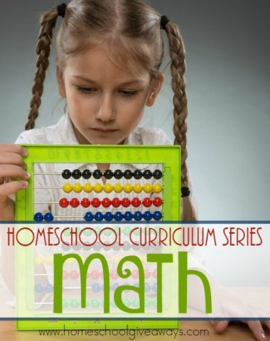 Math is one of those subjects you either love or hate, but the right curriculum can make all the difference. Check out this HUGE list of Math curriculum and books to help kids learn! :: www.homeschoolgiveaways.com