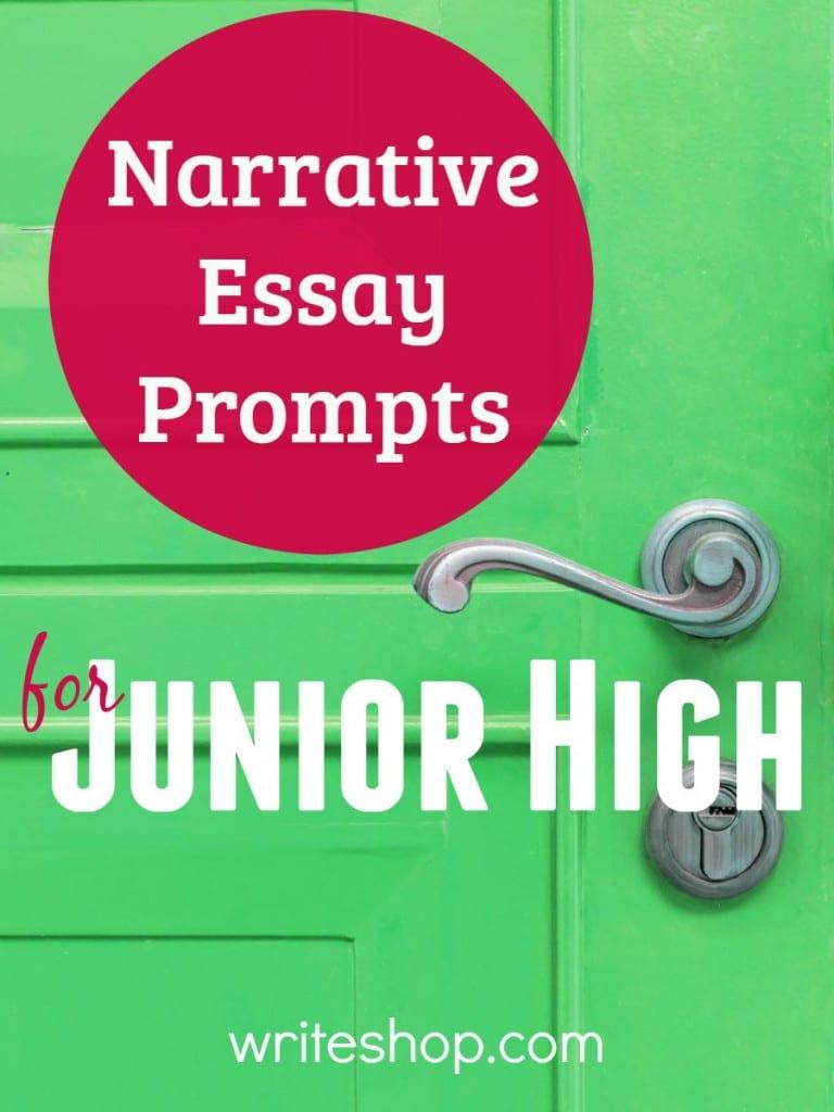 descriptive writing prompts middle school