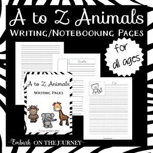 Print - Animal NB Pages