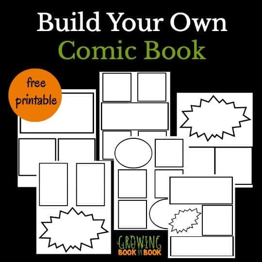 Free Comic Book Templates A Great Writing Idea