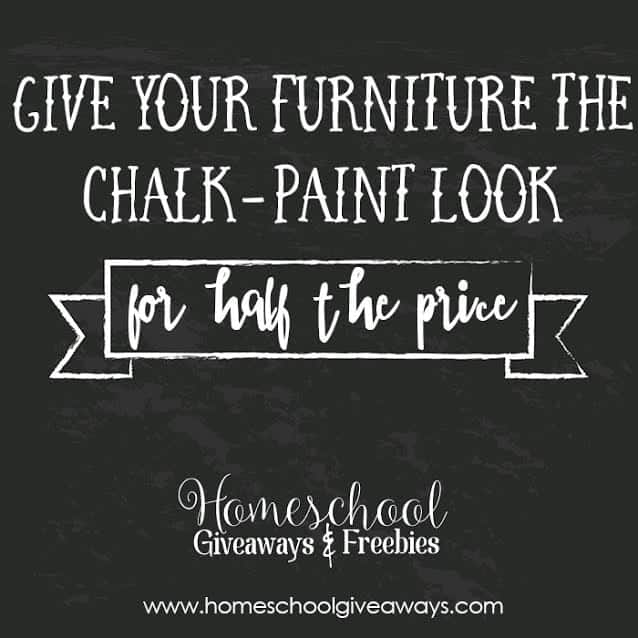 Give Your Furniture The Chalk Paint Look For Half The Price