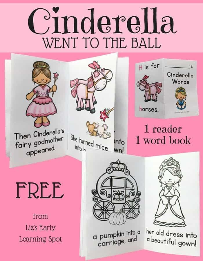 It is a photo of Clever Cinderella Story Printable