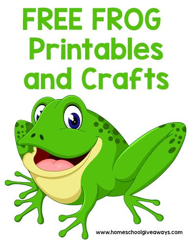 photo regarding Printable Frogs referred to as Cost-free Frog Printables and Crafts - Homeschool Giveaways