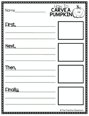 FREE Pumpkin Creative Writing Printable