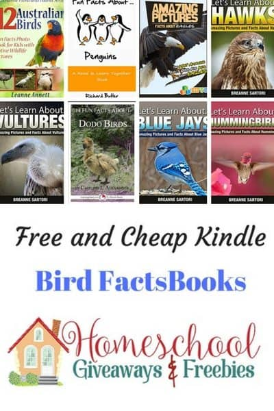 Free and Cheap Kindle Bird Facts Books