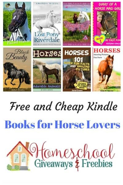 Free and Cheap Kindle Books for Horse Lovers