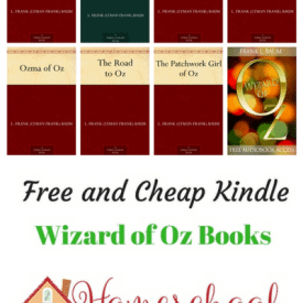 Free and Cheap Wizard of Oz Kindle Books